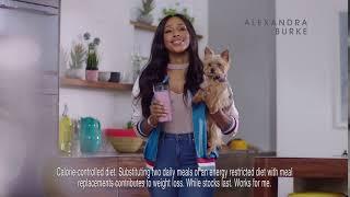 SlimFast Vegan Vitality AD with Alexandra Burke