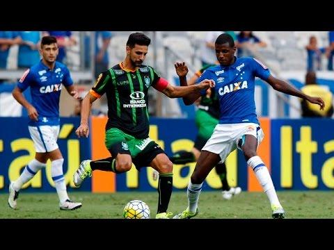 Melhores Momentos De Cruzeiro 1 x 1 América MG - Campeonato Brasileiro Serie A 2016