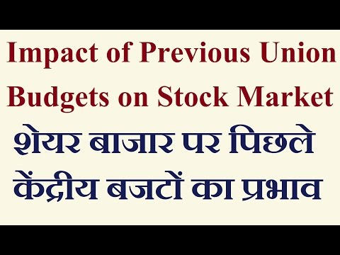 Impact of Historical Budgets on Stock Market