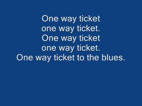 Eruption - One way ticket lyrics