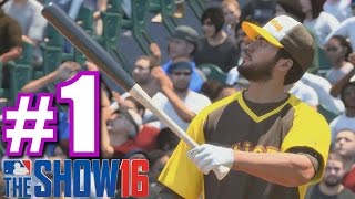 SOFTBALL HOME RUN DERBY! | MLB The Show 16 | Home Run Derby #1