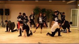T-ara(티아라) _ Cry Cry Choreography (Cry Cry 안무과정공개)