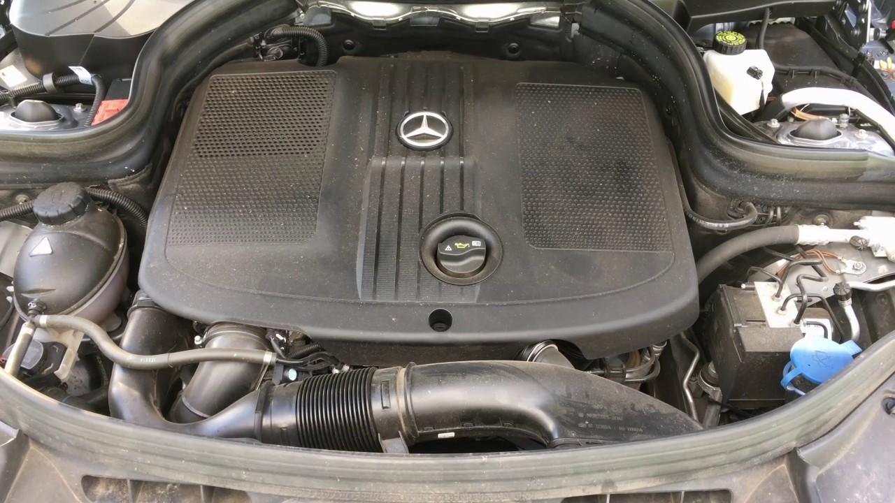 Mercedes Glk 200 Cdi Motor Soundtest Youtube