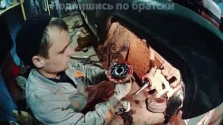 Бомбический Уаз. Установка дисковых тормозов