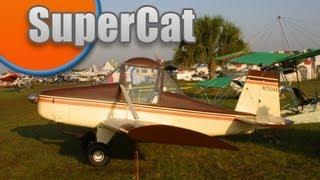 Supercat, Bob Baker's Super Cat / Bobcat Experimental Amateurbuilt All Wood Single Seat Aircraft.