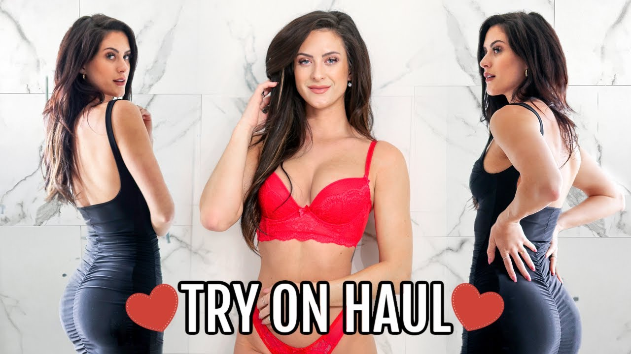 YOUR DATING HORROR STORIES + Valentines Try On Haul ft. Fashion Nova