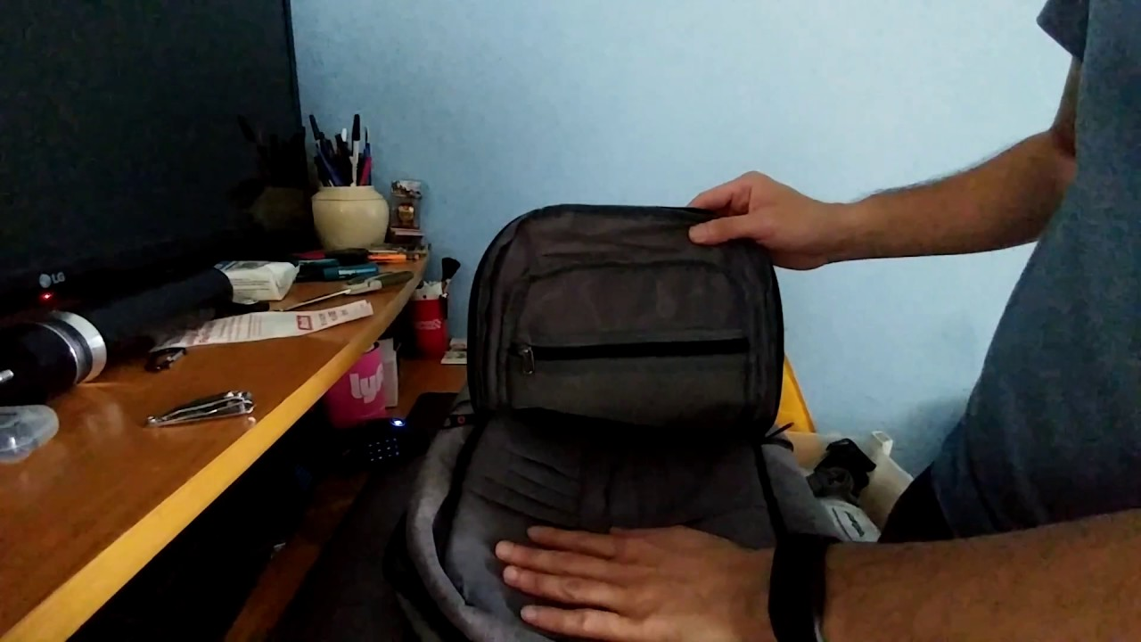 Unboxing Kopack Slim Business Laptop Backpacks Anti thief Tear water  Resistant Travel Bag fits up t 2ce2bce51d60a