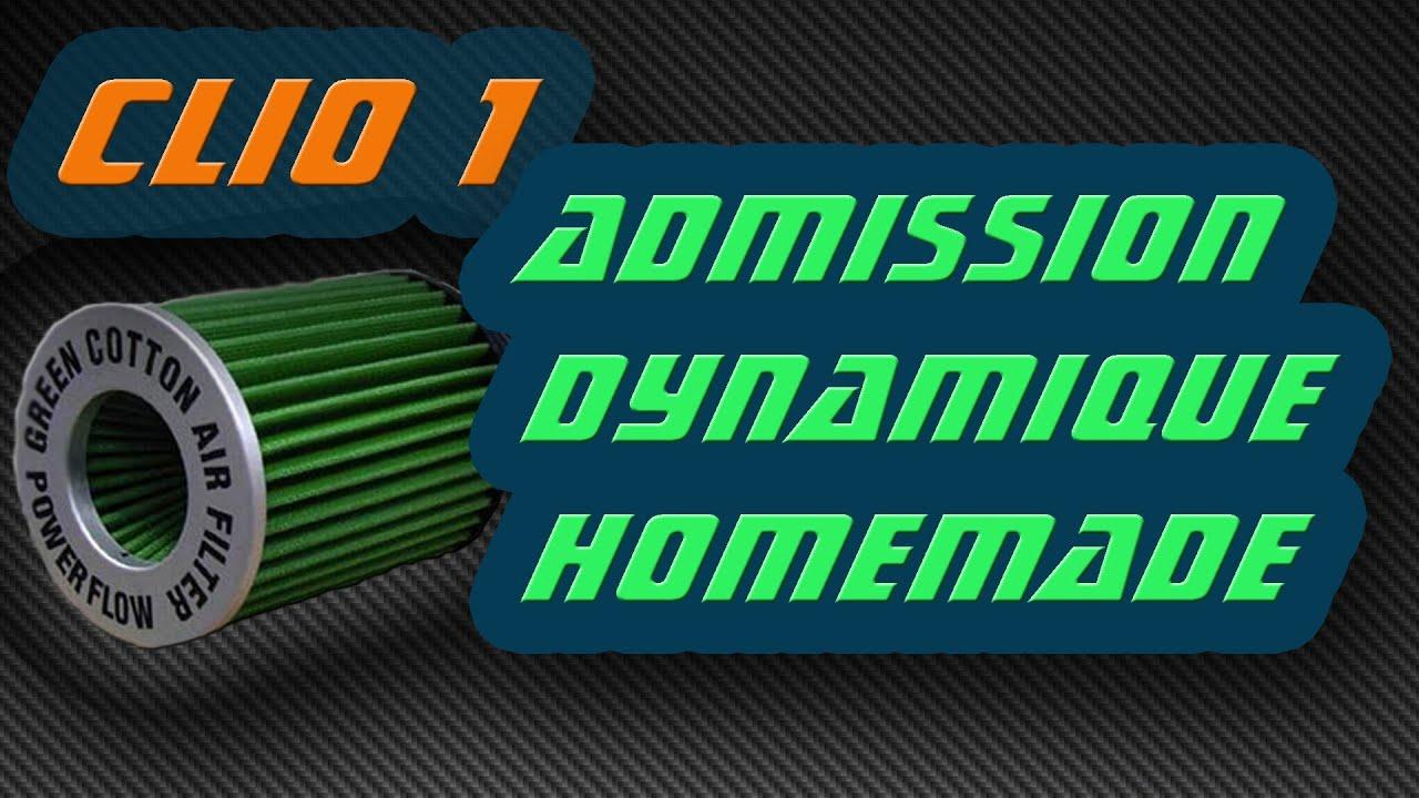 kit admission dynamique clio 1 moteur renault energy 1 4. Black Bedroom Furniture Sets. Home Design Ideas
