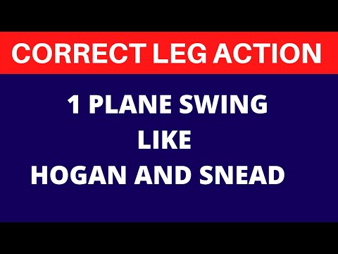 Sam Snead, Ben Hogan and Rickie Fowler - Rounded / 1 Plane Swing