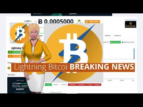 Cryptocurrency Lightning Bitcoin $LTBTC Climbs 70% In The Last 24 Hours