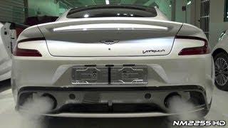 2013 Aston Martin Vanquish Start Up and Rev