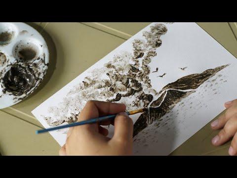 رسامة فلبينية تحول بقايا البركان إلى أعمال فنية  - نشر قبل 7 ساعة