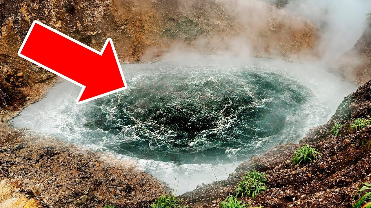 10 Most Mysterious Lakes  in the World