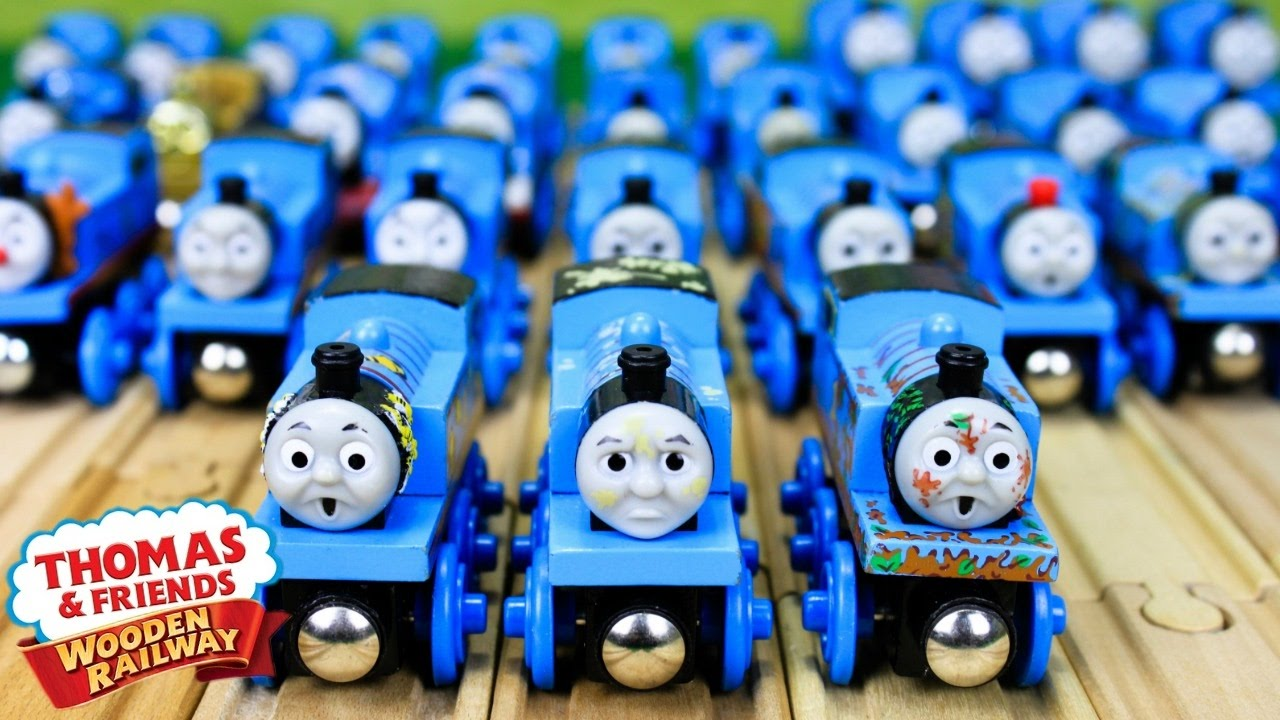 Thomas Wooden Railway Collection Thomas And Friends Toy