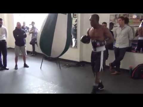 Sakio Bika training