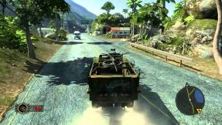Mercenaries 2 PC gameplay GTX 480