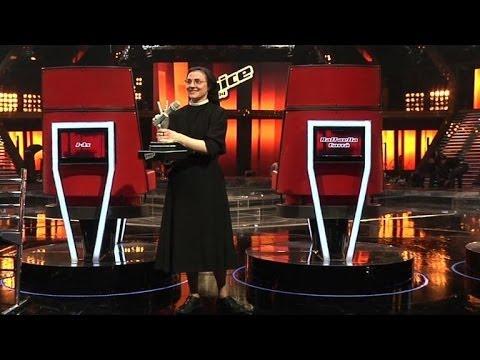 Singing nun wins Italian television talent show