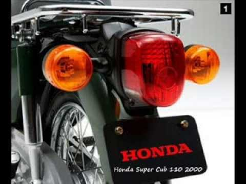 Evolución de diseño Honda Cub