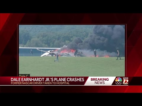 Kyle Anthony - Dale Earnhardt Jr. and family survive plane crash
