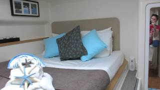 Inside Charter Yacht Secret Oasis - Sailing Catamaran Secret Oasis - Sailing BVI