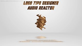 Audio Reactor #04 Editavel Download Grátis Tutorial www logotipodesigner com