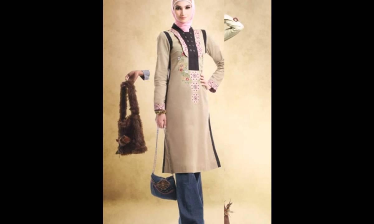 Baju Muslim - Koleksi Busana dan Baju Muslim Bagian 1 - YouTube 1ebc3a673f