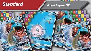 quad lapras gx o deck revelao do regional de malmo pokemon tcg standard
