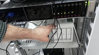 Gambar cover Sistem Odası Cihaz Bağlantıları Sunucu + Firewall + Switch + NAS + NVR + IP Santral