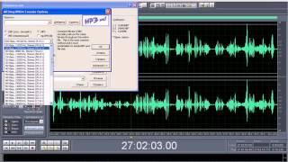 Видео. Как Сохранить в Формат MP3 в Adobe Audition 1.5
