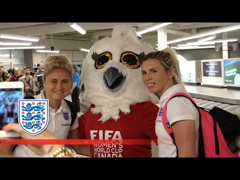 Travel to the World Cup with the England Women's team | Inside Access