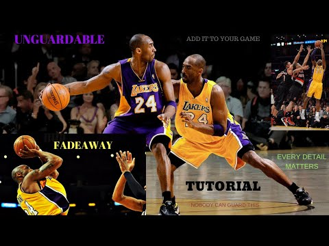 Master Kobe's Fadeaway (Add It To Your Game!)