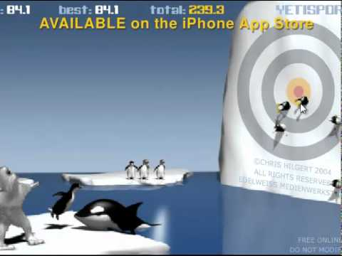 yeti penguin games free