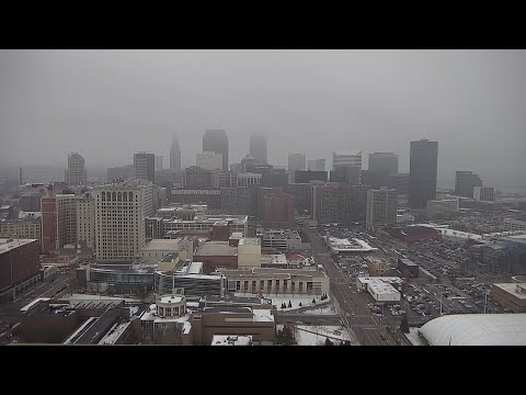 Friday afternoon weather time-lapse for January 18, 2019