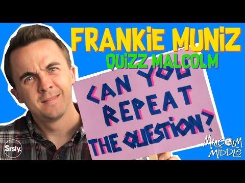 """FRANKIE MUNIZ : Quizz """"Malcolm"""""""