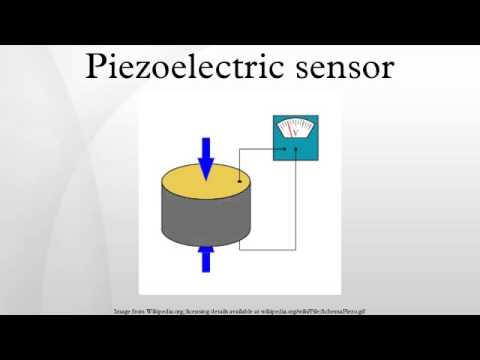 Piezoelectric sensor - YouTube