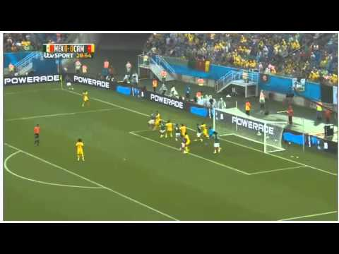 Mexico vs Cameroon Full Highlights 13/06/14 (Goals,Saves,Fouls)