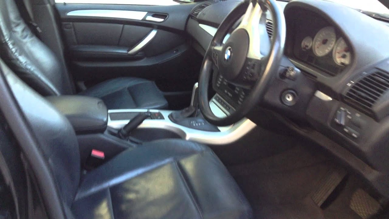 2002 BMW X5 4.6 iS SPORT 4X4 AUTOMATIC BLACK 142,000KM @ BCC - YouTube
