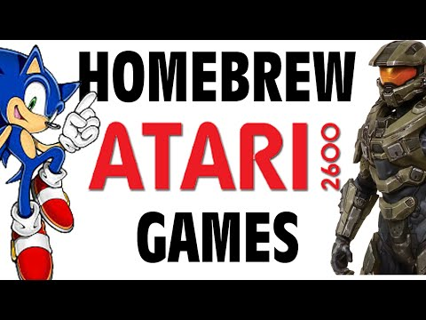 Homebrew Atari 2600 Games - GFM