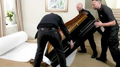 How to safely dismantle and pack a baby grand piano