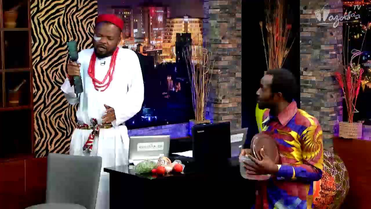 Download THE NIGHT SHOW - Nedu The Herbalist & The Oracle | Wazobia TV