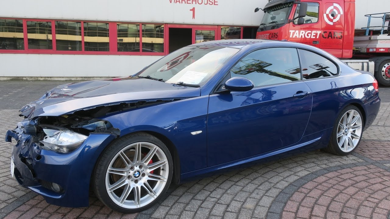 750415 bmw 320d e92 coupe m sport 2 0l 177hp 12 07 blue 85295mil rhd youtube. Black Bedroom Furniture Sets. Home Design Ideas