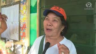 Barangay Elections 2018: Senior citizen walks alone to vote