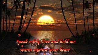 Andy Williams-Speak Softly Love(Lyrics)