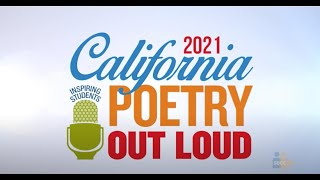 SCOE: Poetry Out Loud 2021