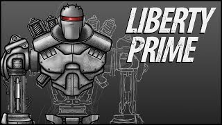 Fallout 4 Parody: Liberty Prime (Character Speed Art)