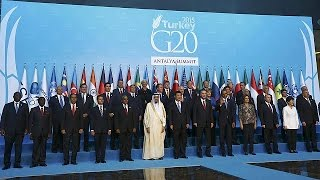Terrorismo domina cimeira do G20