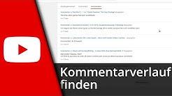 Youtube Tutorial | Kommentarverlauf / Kommentare finden & löschen [Deutsch/HD]