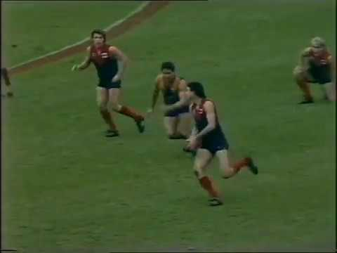 1988 AFL Elimination Final Melbourne Vs West Coast - 2nd Half