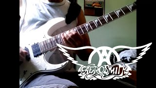 Video Aerosmith - Fly Away From Here (Guitar Cover) download MP3, 3GP, MP4, WEBM, AVI, FLV Juni 2018