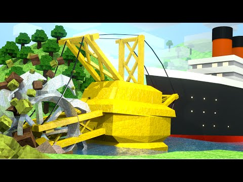 "Minecraft | Crazy Craft 3.0 - Ep 77! ""THE CRAZY SHARK CANAL"""